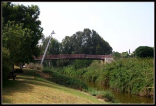 парк ле дугма - мост - нахаль аександр - Израиль