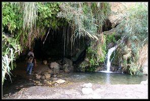 Меарат ха додим - пещера влюбленных - - Эйн Геди - Израиль