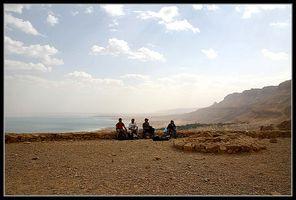 останки храма медного периода в заповеднике нахаль давид - ручей давида - - Эйн Геди - Израиль