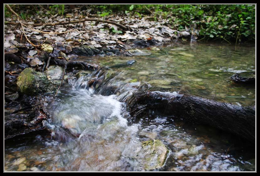 течение воды в ручье Кейни - рядом с тель мегидо - армагедон