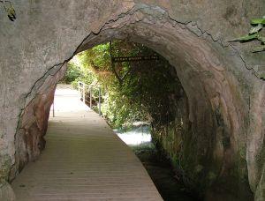 Римкий мост на маршруте от парка Баниас к водопаду