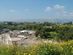 Бейт Шеан (Скитополис) - Вид с холма
