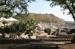 Национальный парк Бейт-Шеан (Скитополис) - Вот он древний город!