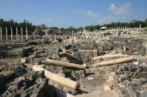 Бейт Шеан (Скитополис) - останки города