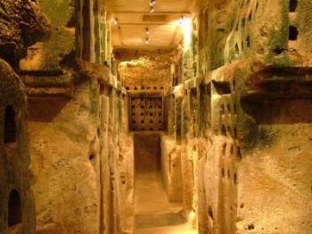 Бейт-Гуврин - джубрин - говрин - Пещера номер 3 - колумбариум (голубятня)
