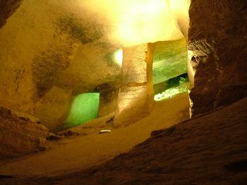 Пещера номер 6 - пещера жилого дома - бейт гуврин - говрин - мареша