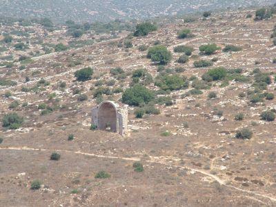 останки церкви святой Анны(Sent Hanna), бейт гуврин - говрин мареша