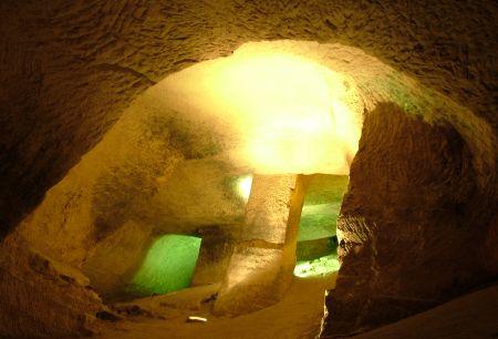Бейт Гуврин - Внутри одной из пещер национального парка