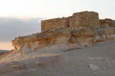 Античная постройка в Эйн Авдат