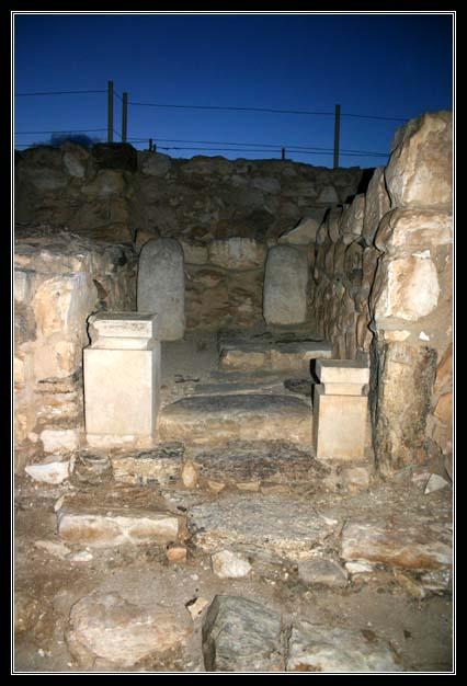 тель арад - вход в иудейский храм
